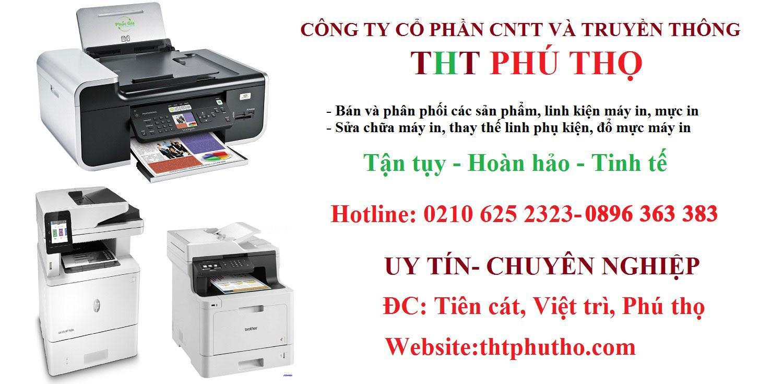Tại sao nên sử dụng dịch vụ máy in tại THT Phú Thọ?