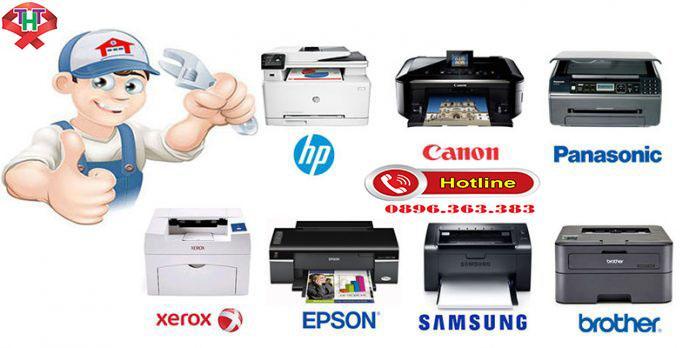 Đổ mực máy in, máy photo, thay Cartridge tại Việt Trì Phú Thọ