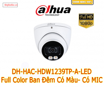 Camera dahua Full color HDW1239TP-LED
